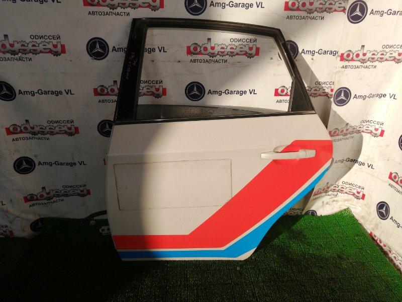 Дверь Subaru Impreza GE2 EL15 задняя левая