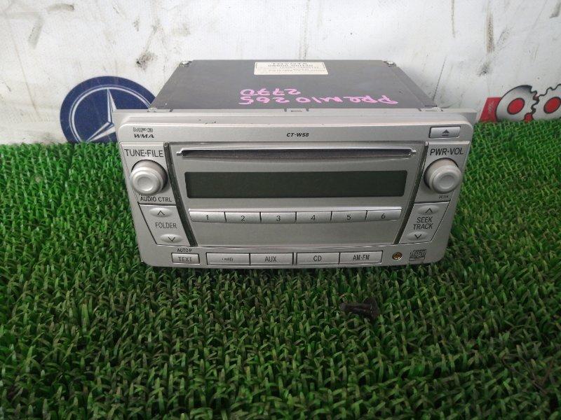 Магнитофон Toyota Premio ZRT265 2ZR-FE 2010