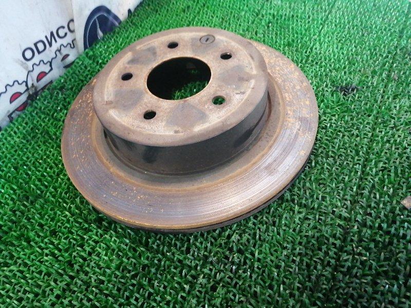 Тормозной диск Nissan Xtrail TNT31 QR25DE 2008 задний