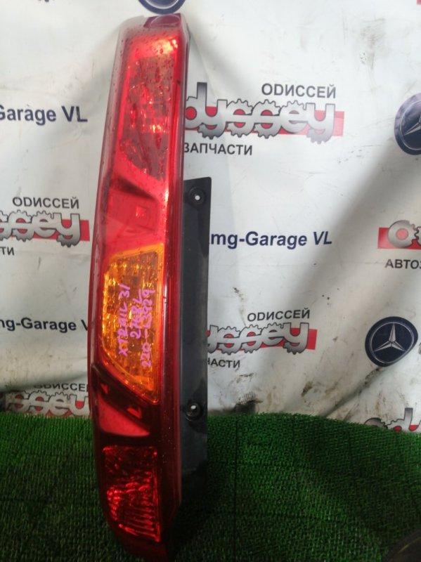 Стоп Nissan Xtrail TNT31 QR25DE 2008 задний левый