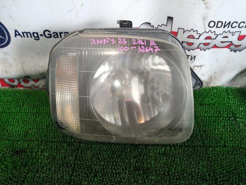 Фара Suzuki Jimny JB23W K6A 2001 передняя правая