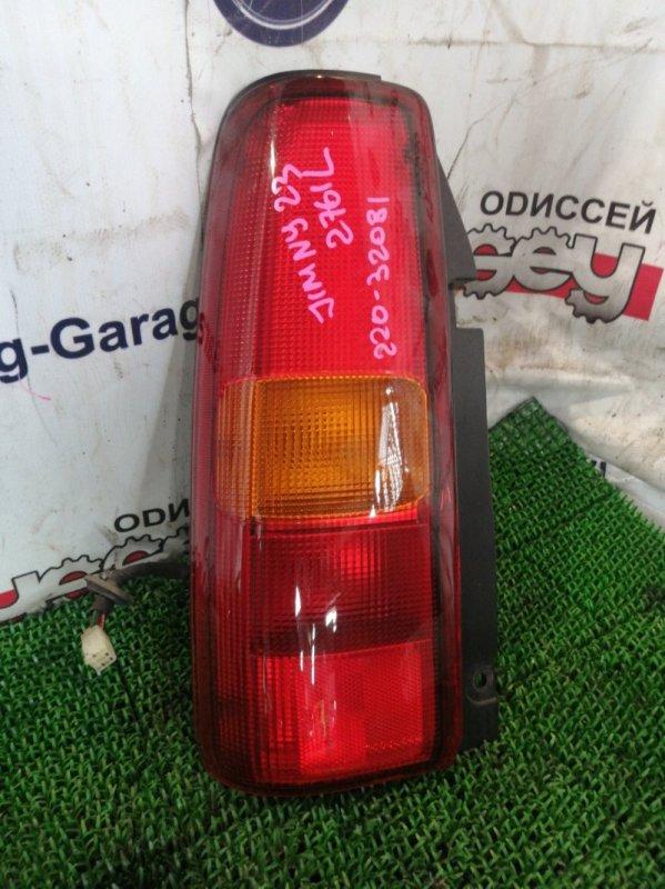 Стоп Suzuki Jimny JB23W K6A 2001 задний левый