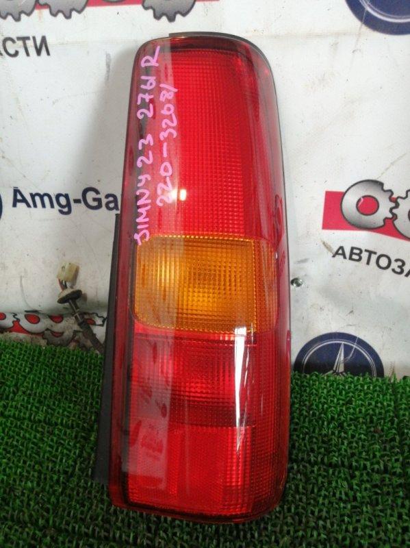 Стоп Suzuki Jimny JB23W K6A 2001 задний правый