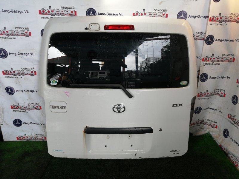 Дверь 5-я Toyota Town Ace S412M 3SZ-VE 2010