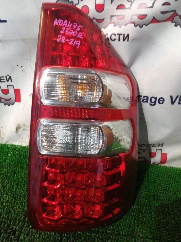 Стоп Toyota Noah ZRR75 3ZR-FAE 2013 задний правый