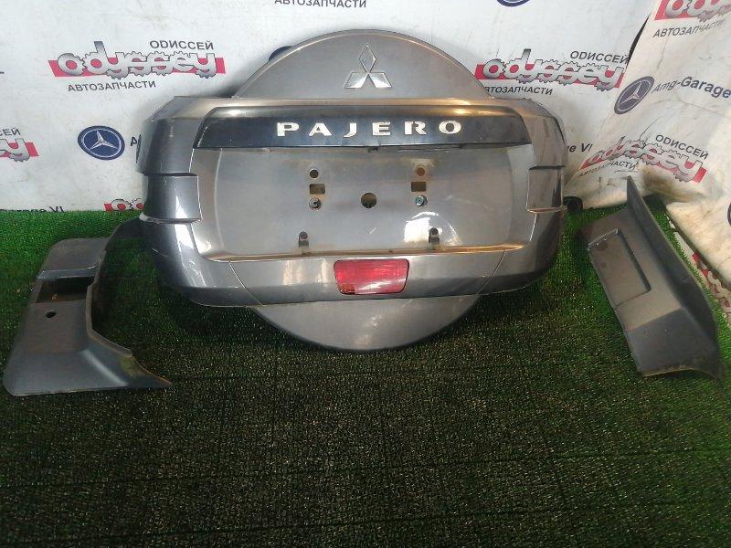 Колпак на запаску Mitsubishi Pajero V87W 6G75 2007