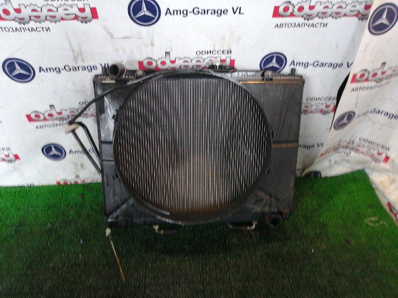 Радиатор Mitsubishi Pajero V87W 6G75 2007