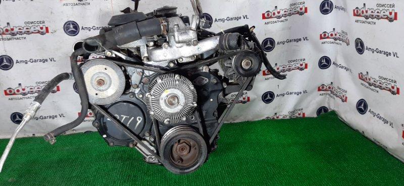 Двигатель Nissan Atlas AMF22 TD27 1991