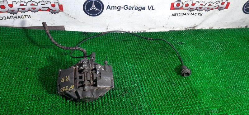 Суппорт Mercedes S430 W220.083 113948 2004 задний правый