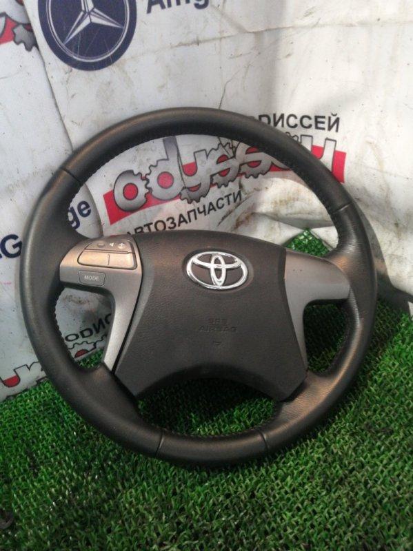 Руль Toyota Mark X Zio ANA10 2AZ-FE 2009