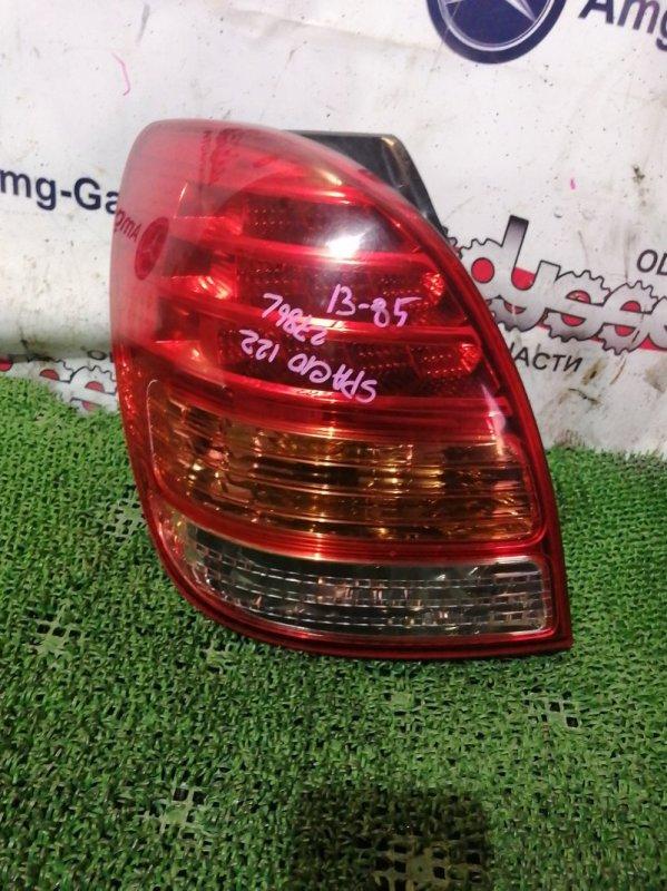 Стоп Toyota Corolla Spacio ZZE122 1ZZ-FE 2005 задний левый