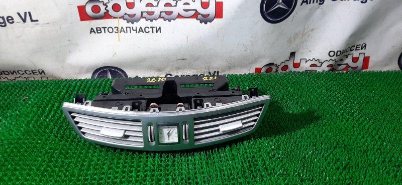 Консоль с часами Mercedes S350 W221 272965 2008