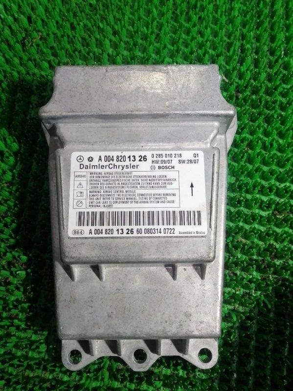 Блок управления airbag Mercedes S350 W221 272965 2008