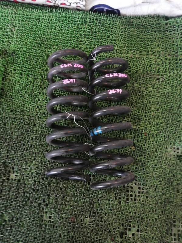 Пружина Mercedes Clk200 WDB209 271.940 2006 задняя