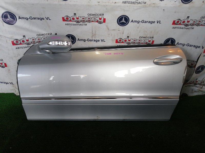 Дверь Mercedes Clk200 WDB209 271.940 2006 передняя левая