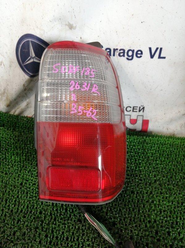 Стоп Toyota Hilux Surf RZN185 3RZ-FE 1999 задний правый