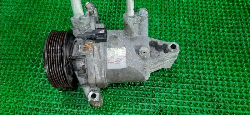 Компрессор кондиционера Nissan March NK13 HR12DE 2010
