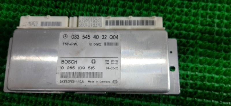 Блок управления esp Mercedes E320 WDB211 112.949 2004