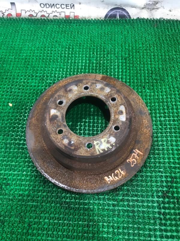 Тормозной диск Isuzu Bighorn UBS26GW 6VE1 2000 задний правый