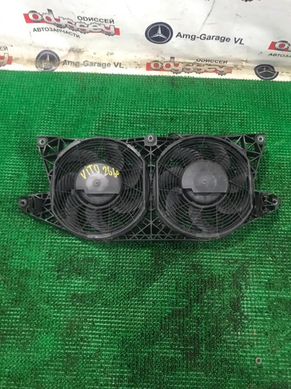 Вентилятор радиатора Mercedes Vito W639 112976 2007