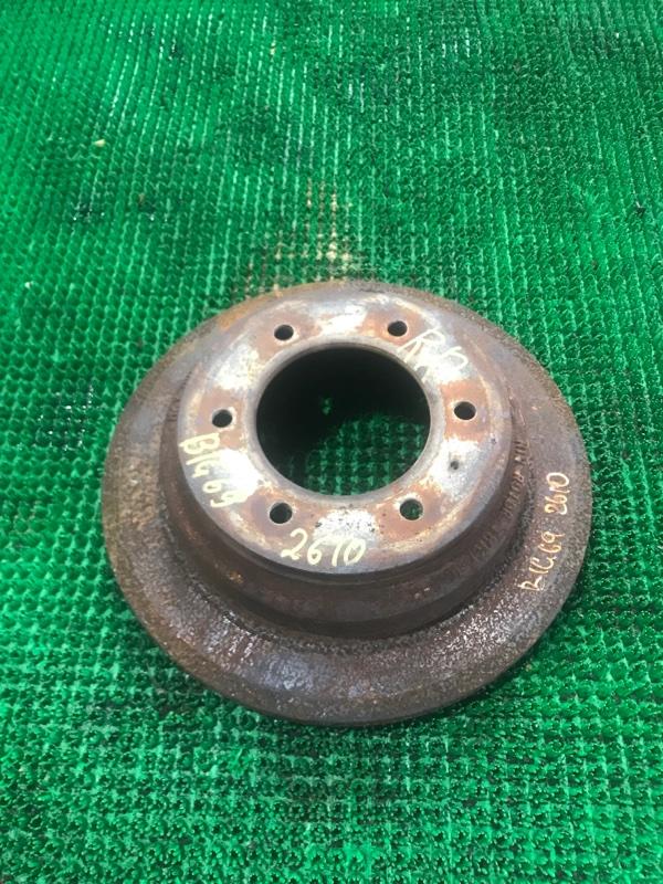 Тормозной диск Isuzu Bighorn UBS69GW 4JG2 1995 задний правый