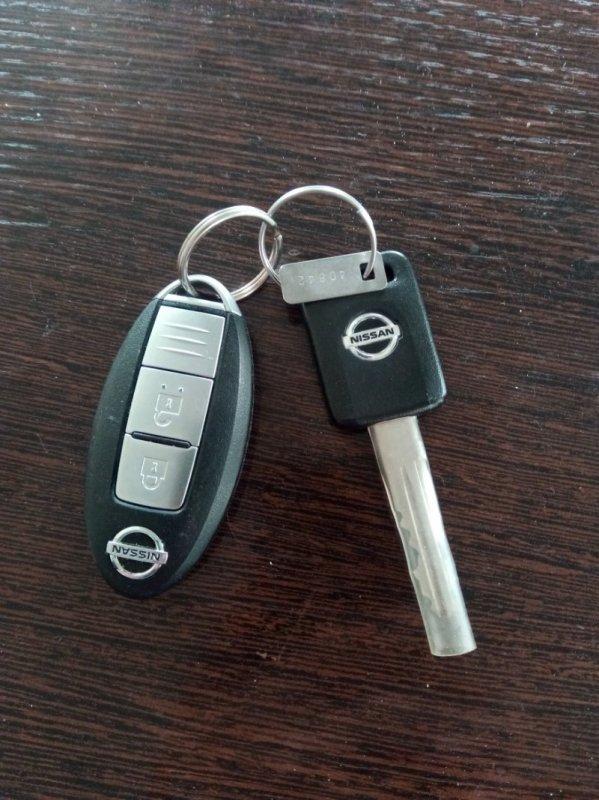 Ключ зажигания Nissan Xtrail TNT31 QR25DE 2008