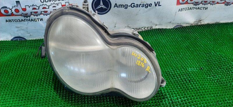 Фара Mercedes C32 Amg W203 112961 60 002787 2001 правая
