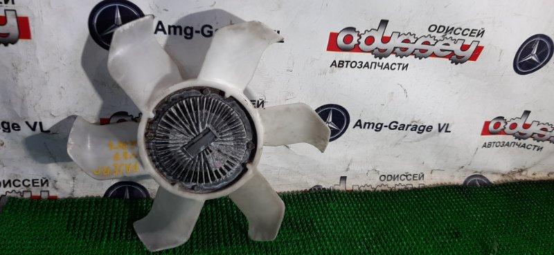 Вентилятор с вязкостной муфтой Mitsubishi Pajero V87W 6G75 2007