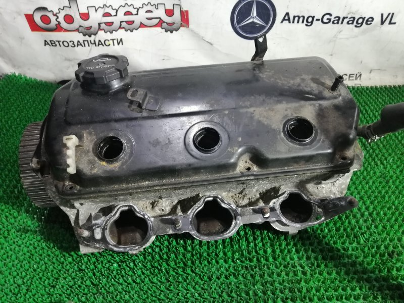 Головка блока цилиндров Mitsubishi Pajero V63W 6G72 2002 правая