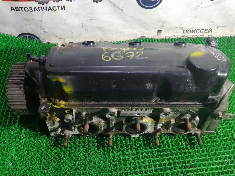 Головка блока цилиндров Mitsubishi Pajero V63W 6G72 2002 левая