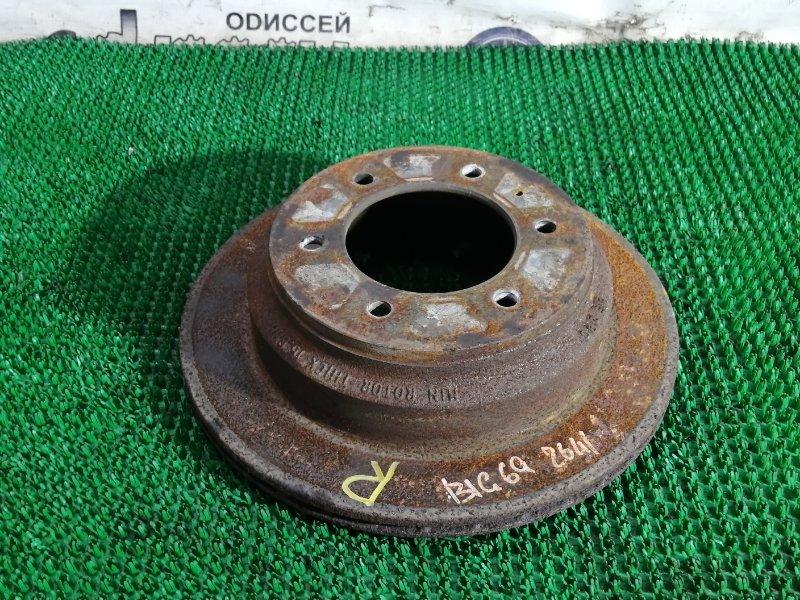 Тормозной диск Isuzu Bighorn UBS69GW 4JG2 1996 задний правый