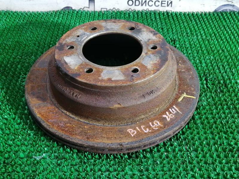 Тормозной диск Isuzu Bighorn UBS69GW 4JG2 1996 задний левый
