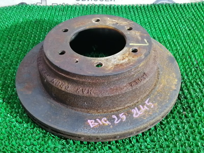Тормозной диск Isuzu Bighorn UBS25GW 6VD1 1993 задний левый