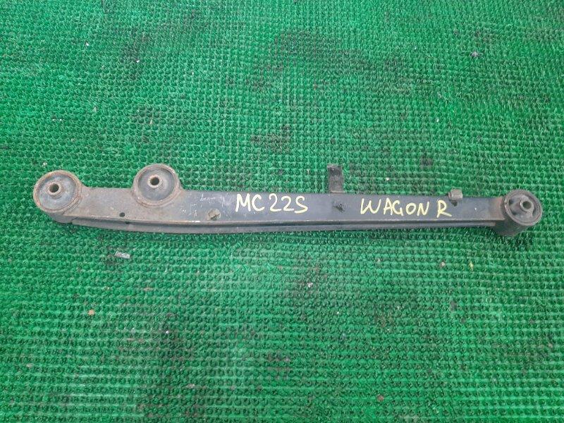 Рычаг Suzuki Wagon R MC22S K6A 2000 задний левый