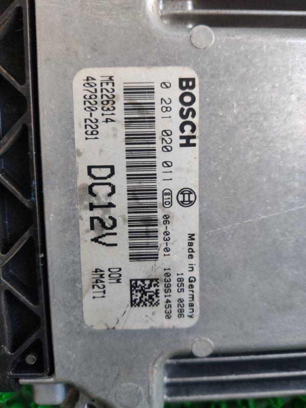 Блок efi Mitsubishi Canter FD70BB 4M42 2006