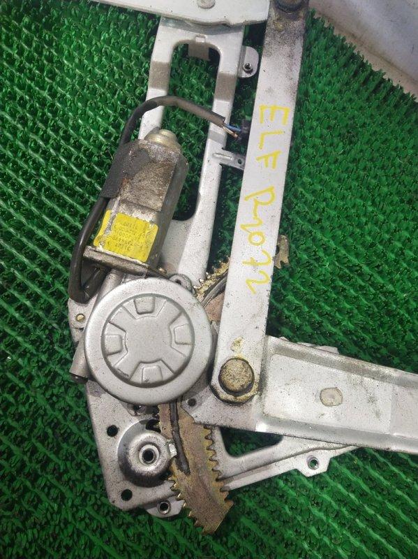 Стеклоподъемный механизм Isuzu Elf NKS81G 4HL1 2004 передний правый