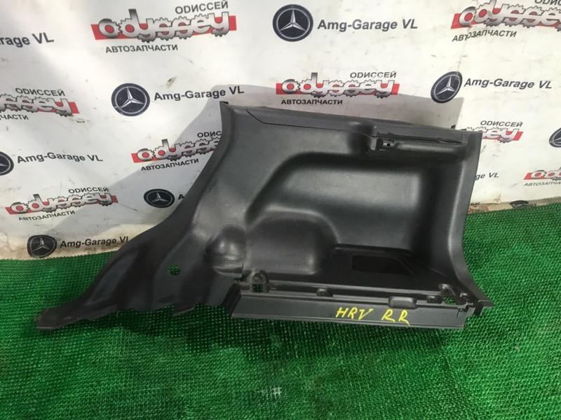 Обшивка багажника Honda Hrv GH4 D16A 2000 задняя правая