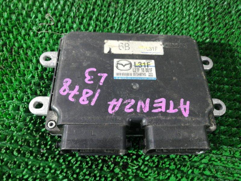 Блок efi Mazda Atenza GG3S L3-10303659 2007