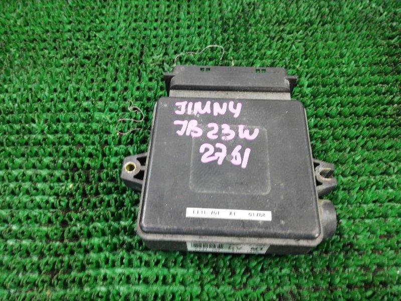 Электронный блок Suzuki Jimny JB23W K6A 2001