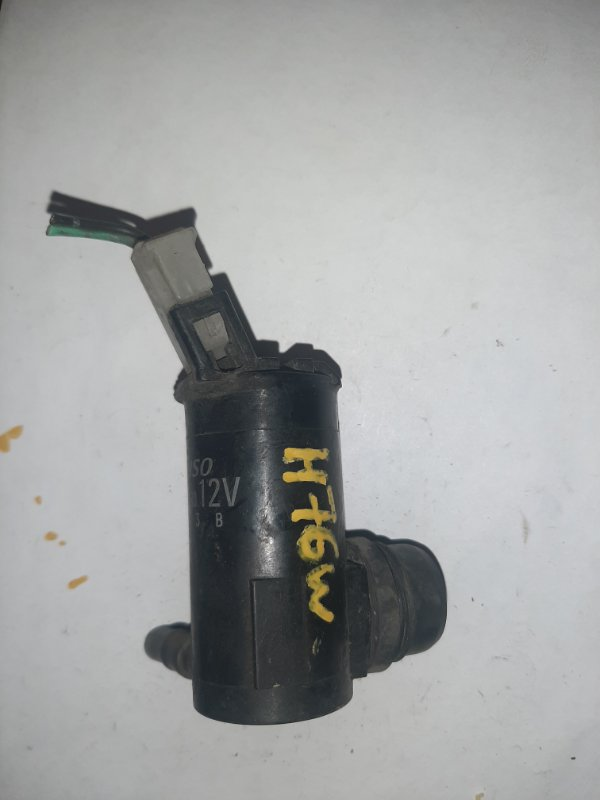 Мотор бачка омывателя Mitsubishi Pajero Io H76W
