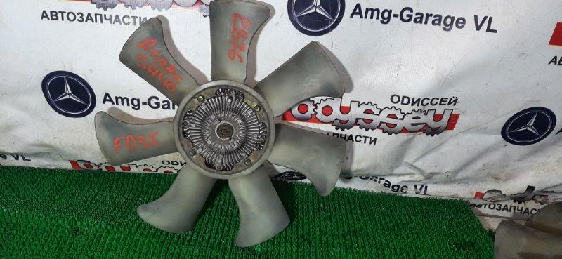 Вентилятор с вязкостной муфтой Nissan Atlas SH40-077247 FD35-049915 07.1991