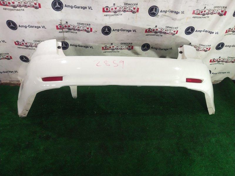 Бампер Toyota Avensis ZRT272 3ZRFAE 2011.07 задний