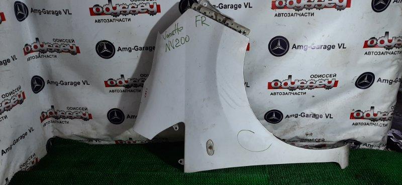 Крыло Nissan Nv 200 VM20 HR16DE 2008 переднее правое