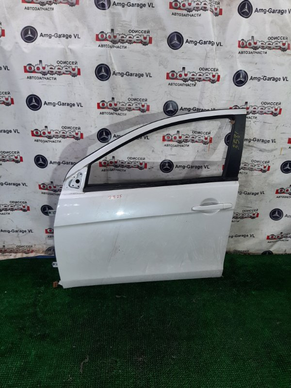 Дверь Mitsubishi Galant Fortis CX3A 4B10 2010 передняя левая