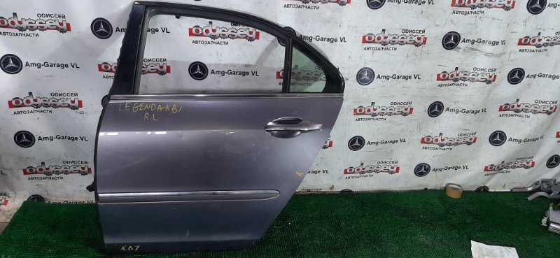 Дверь Honda Legend KB1 J35A 2004 задняя левая