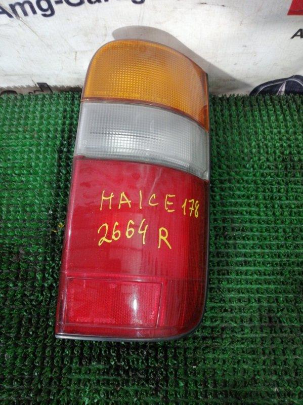 Стоп Toyota Hiace LH178 5L 1999 задний правый