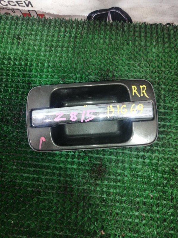 Ручка двери Isuzu Bighorn UBS69GW 4JG2 1994 задняя правая