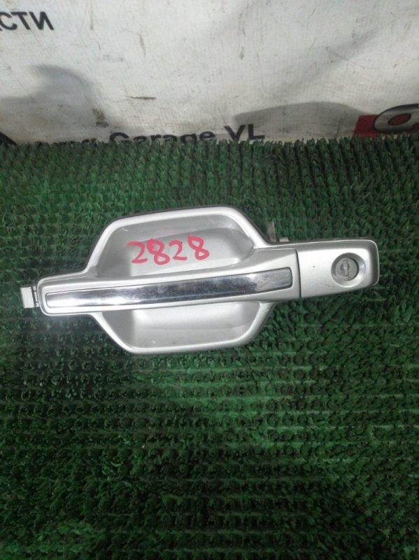Ручка двери Mitsubishi Pajero V68W 4M41 1999 передняя левая