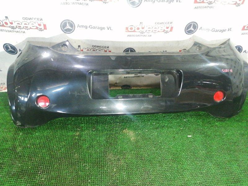 Бампер Toyota Iq KGJ10 1KR-FE 2010 задний