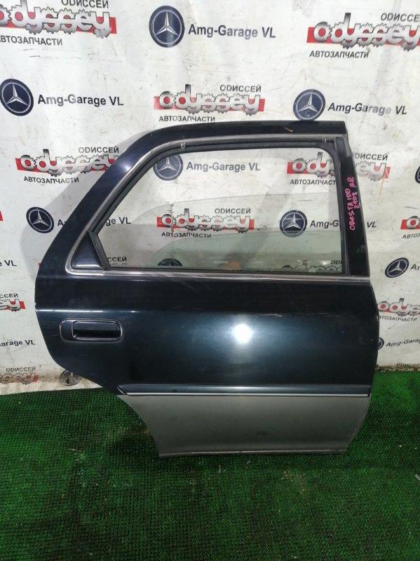 Дверь Toyota Cresta JZX105 1JZ 2000 задняя правая